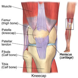 Knee problems osteopath